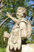 stock photo of centaur  - Statue of the Centaur in the Pavlovsk park St - JPG