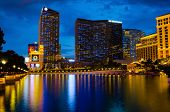 LAS VEGAS - AUGUST 12: The Cosmopolitan of Las Vegas luxury resort casino and hotel  on August 12, 2