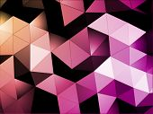 picture of triangular pyramids  - Triangles Abstract Background - JPG