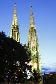 picture of sissi  - The Votive Church in Capital City Vienna - JPG