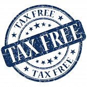 picture of tariff  - tax free stamp  - JPG