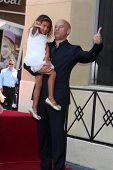 SLOS ANGELES - AUG 26:  Hania Riley, Vin Diesel at the Vin DIesel Walk of Fame Star Ceremony at the