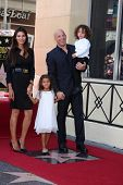 LOS ANGELES - AUG 26:  Paloma Jimenez, Hania Riley Diesel, Vin Diesel, Vincent Diesel at the Vin DIe