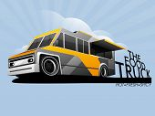 stock photo of food truck  - The food truck - JPG