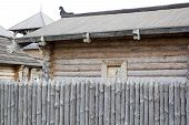 pic of stockade  - Architecture of ancient Russia  - JPG