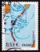 Postage Stamp France 2005 Breast Cancer Awareness