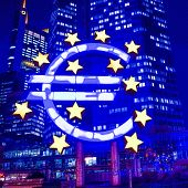 Euro Sign - February 12 : Euro Sign. European Central Bank (ECB) is the central bank for the euro an