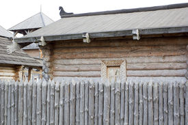 picture of stockade  - Architecture of ancient Russia  - JPG