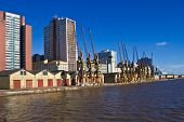 stock photo of gaucho  - Porto Alegre Port view  - JPG