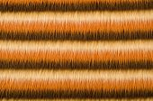 Shades of brown furry striped background. Hairy stripes pattern. poster