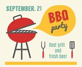 stock photo of bbq party  - BBQ party - JPG