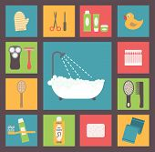 picture of bath sponge  - Bath supplies - JPG