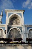 Door of Sultan Ahmad Shah 1 Mosque in Kuantan poster