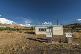picture of cisco  - Abandoned gas station near The Ghost Town of Cisco Utah - JPG
