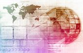 picture of voip  - Telecommunications Technology Network Going Global as Art - JPG