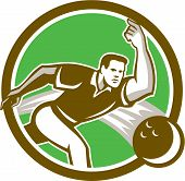 image of bowler  - Illustration of a ten - JPG