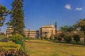 image of vidhana soudha  - Vidhana Soudha the state legislature building in Bangalore India - JPG