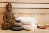 foto of sauna  - spa and wellness items - JPG