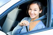 stock photo of seatbelt  - Always fasten your seatbelt - JPG