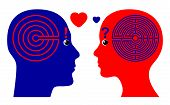 pic of psychological  - Men fall in Love faster than Women according to psychological theories - JPG