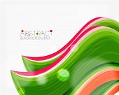 image of solid  - Abstract realistic solid wave background - JPG
