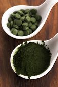 pic of chlorella  - Green chlorella - JPG