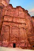 image of petra jordan  - Tombs that are called  - JPG