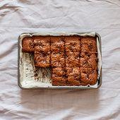 image of brownie  - chocolate brownie - JPG