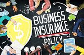 image of policy  - Business Insurance Policy Guard Safety Security Concept - JPG