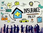 foto of policy  - Insurance Policy Help Legal Care Trust Protection Protection Concept - JPG