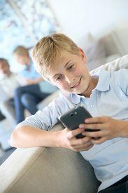 pic of pre-adolescent child  - Pre - JPG