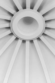 image of canopy roof  - abstract background of a white roof canopy - JPG