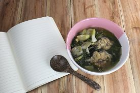 image of om  - This is a local foods of Thailand the name is  - JPG