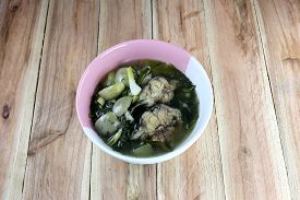 stock photo of om  - This is a local foods of Thailand the name is  - JPG